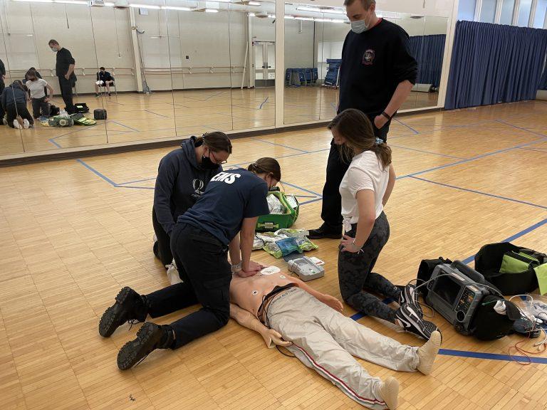 QU EMS members training